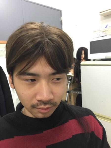 小野君の髪型(表参道青山の美容室ブルーフェーセス高森恭生のブログ)
