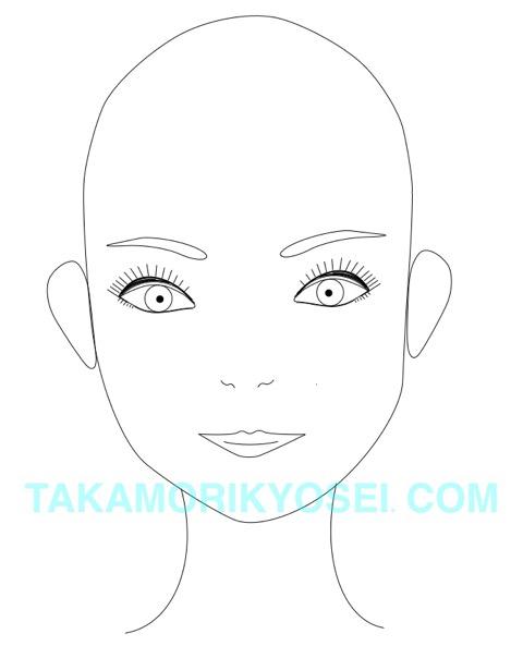 丸顔に似合う髪型はやっぱりショートでしょ(青山 表参道美容室ブルーフェーセス高森恭生のブログ)